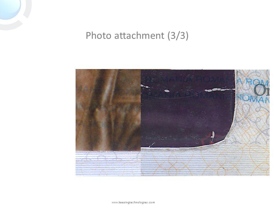 Photo attachment (3/3) www.keesingtechnologies.com