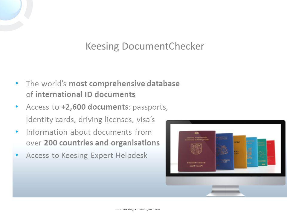 Keesing DocumentChecker