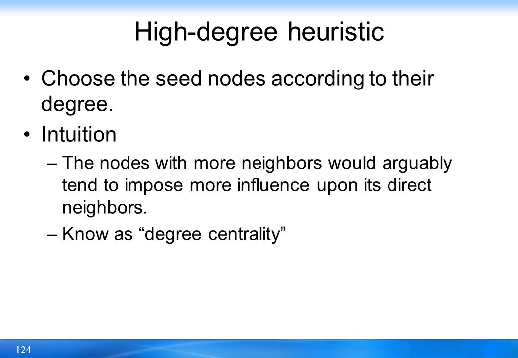 High-degree heuristic