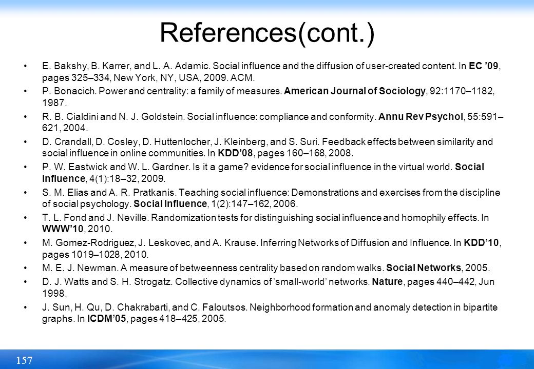 References(cont.)