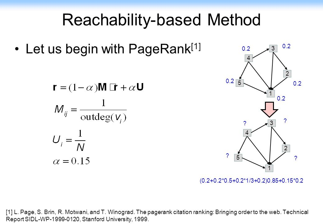 Reachability-based Method