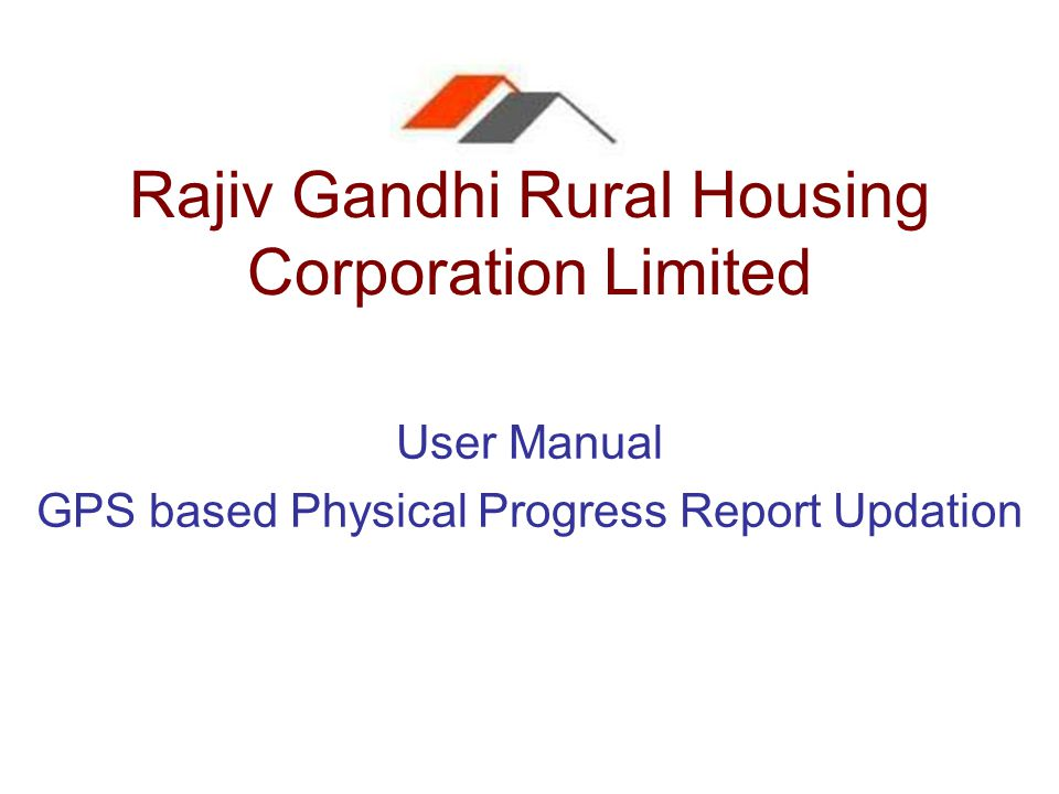 Rajiv Gandhi Rural Housing Corporation Limited