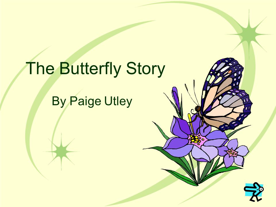 The Butterfly Story By Paige Utley