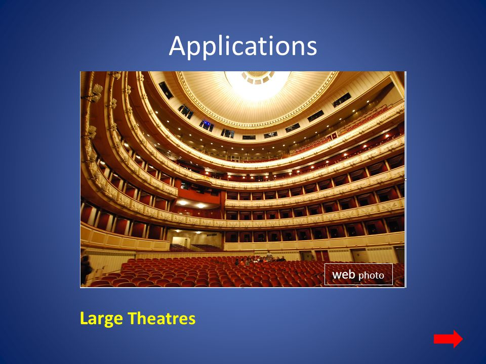 Applications web photo Large Theatres