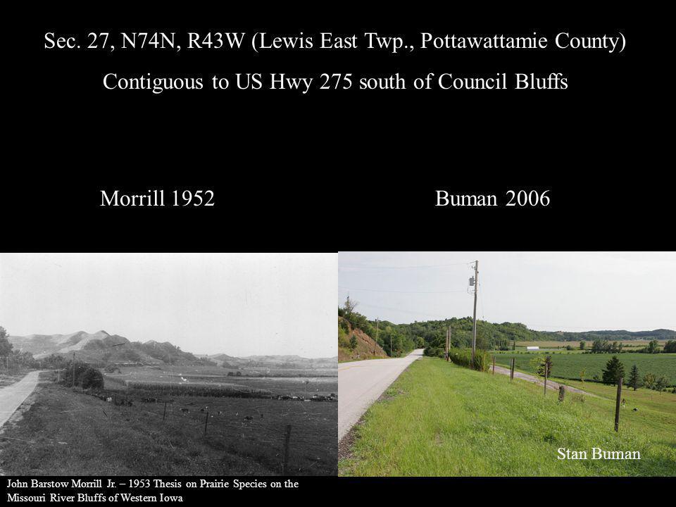 Sec. 27, N74N, R43W (Lewis East Twp., Pottawattamie County)