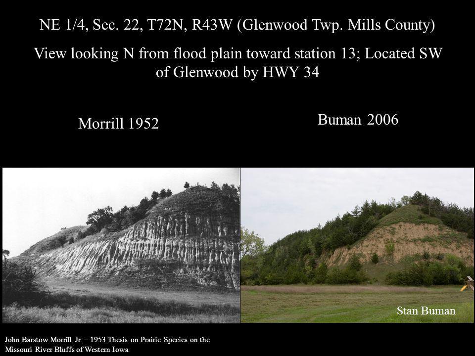 NE 1/4, Sec. 22, T72N, R43W (Glenwood Twp. Mills County)