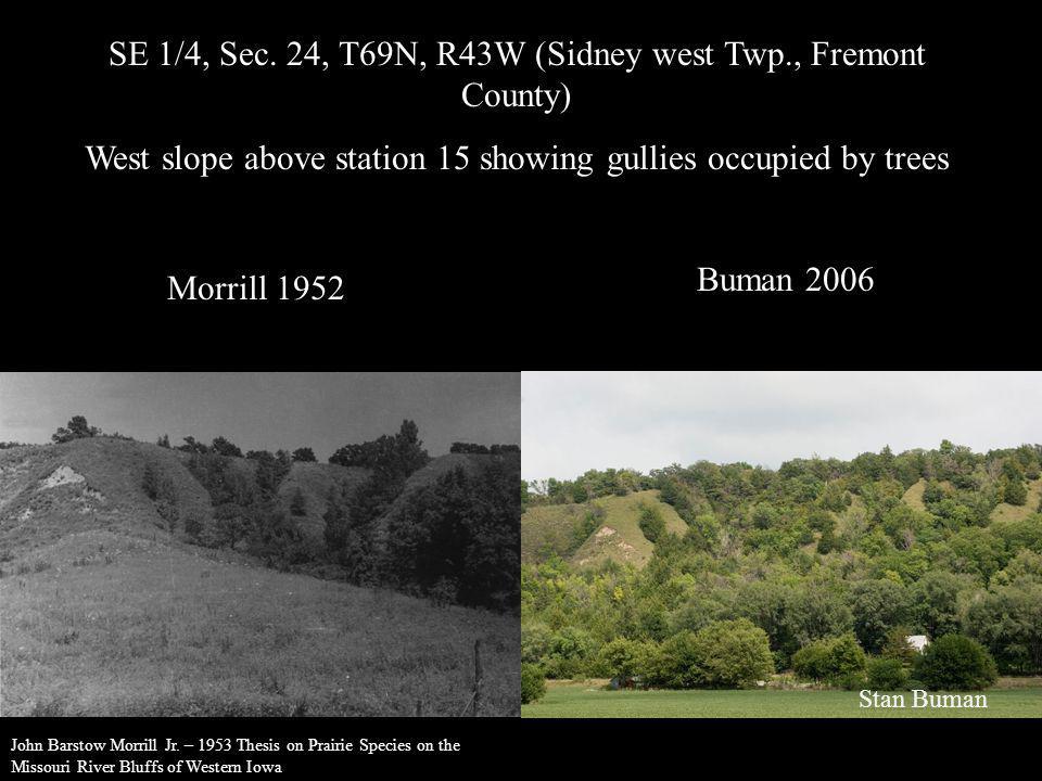 SE 1/4, Sec. 24, T69N, R43W (Sidney west Twp., Fremont County)