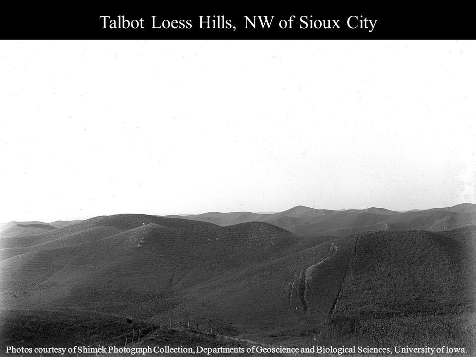 Talbot Loess Hills, NW of Sioux City