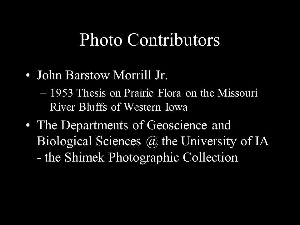 Photo Contributors John Barstow Morrill Jr.