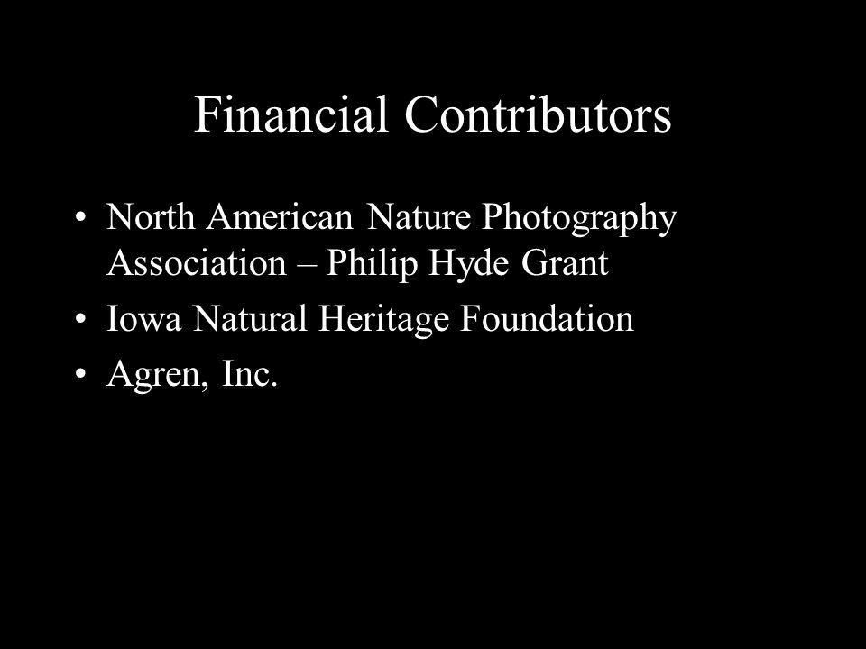 Financial Contributors