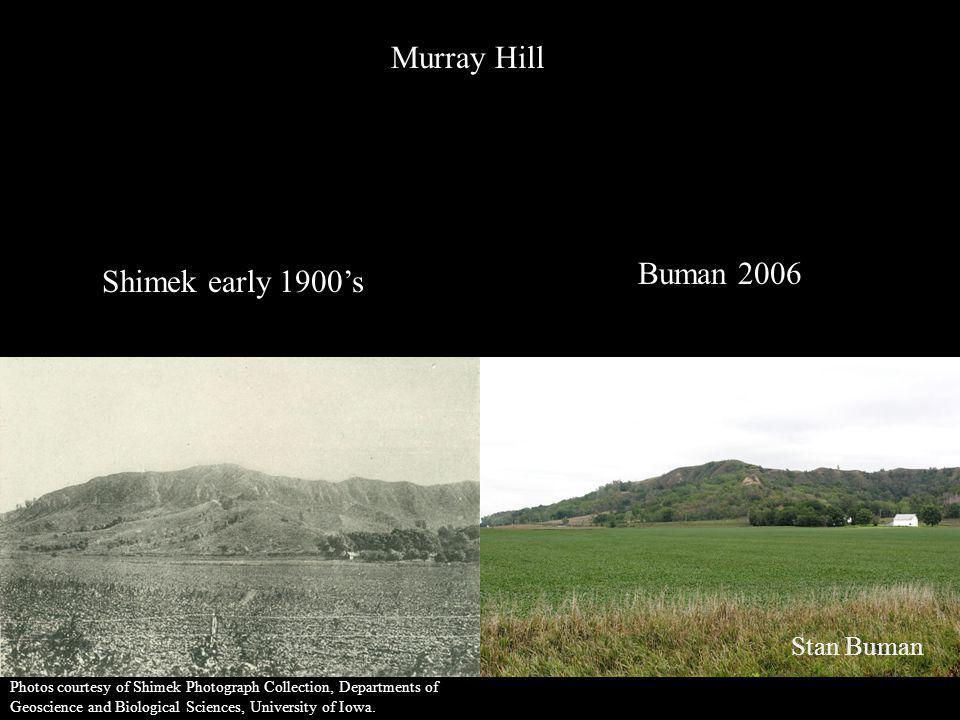 Murray Hill Buman 2006 Shimek early 1900's Stan Buman