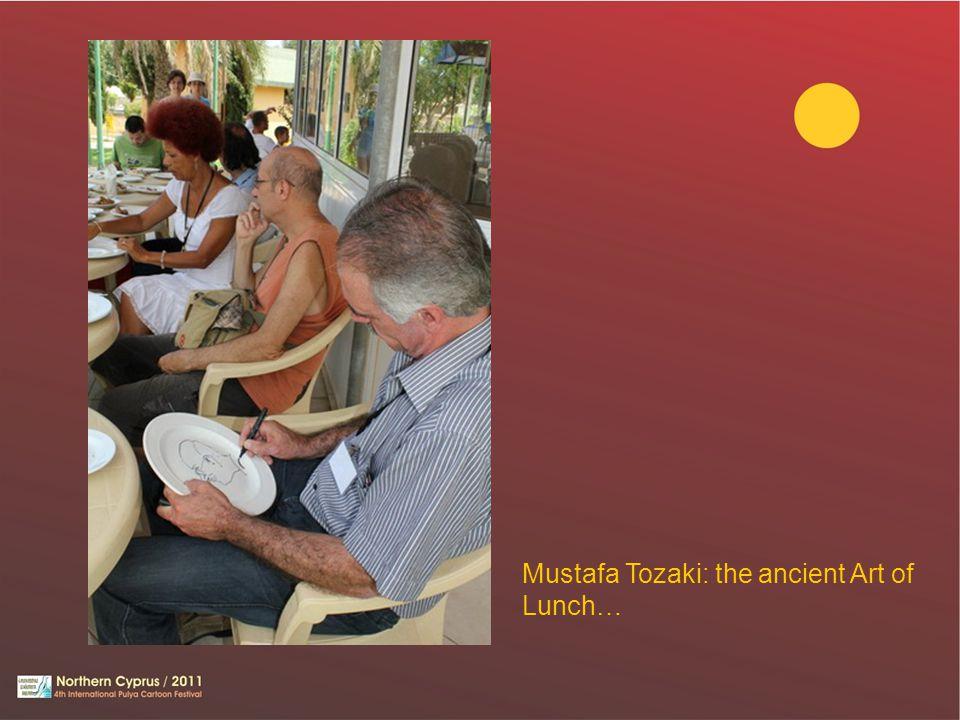 Mustafa Tozaki: the ancient Art of Lunch…
