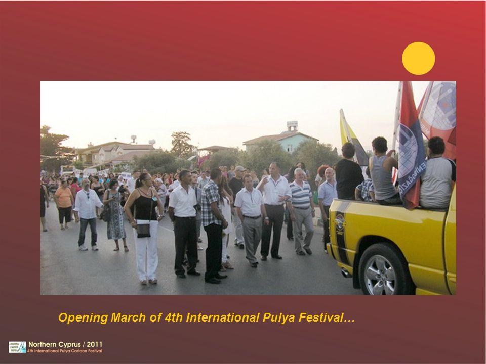Opening March of 4th International Pulya Festival…
