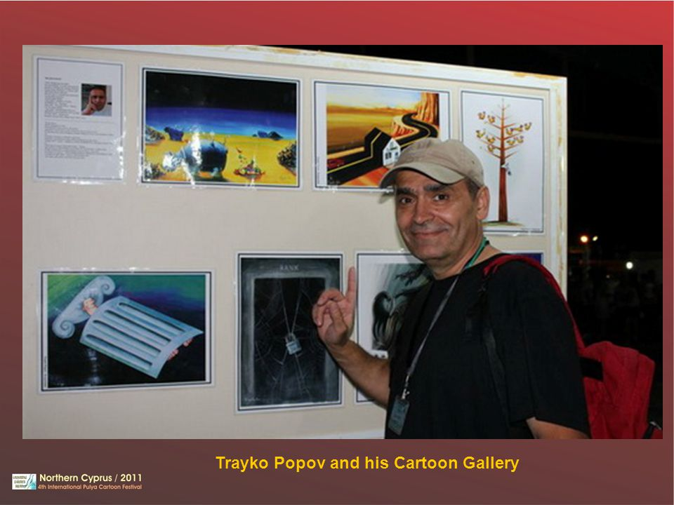 Trayko Popov and his Cartoon Gallery