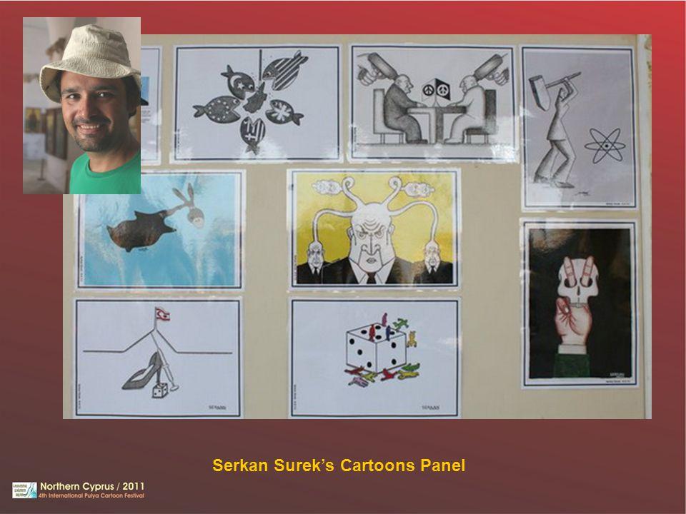 Serkan Surek's Cartoons Panel