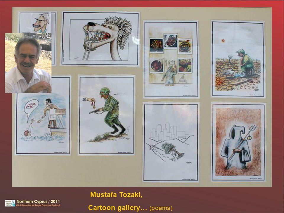 Mustafa Tozaki, Cartoon gallery… (poems)