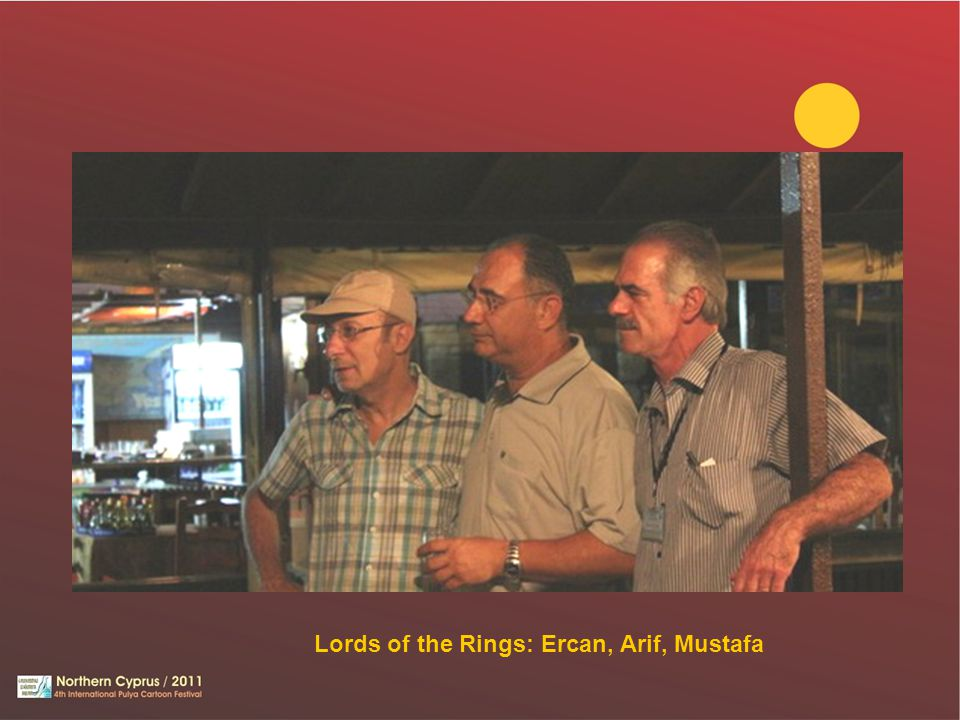 Lords of the Rings: Ercan, Arif, Mustafa