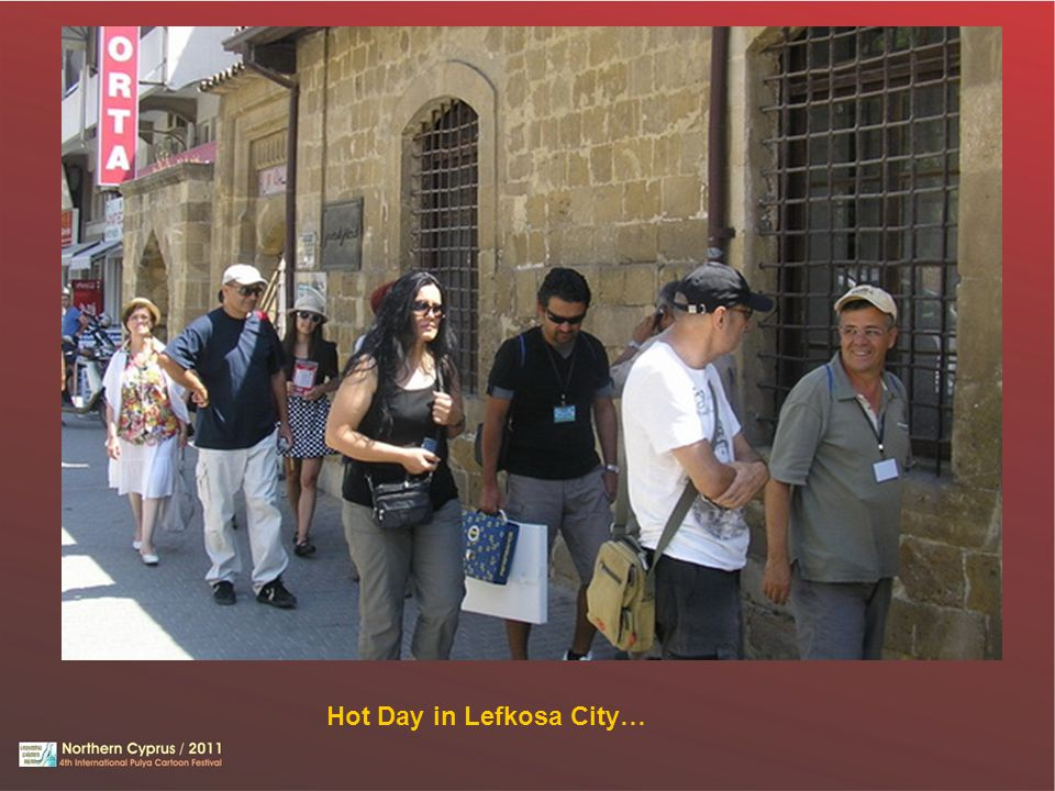Hot Day in Lefkosa City…