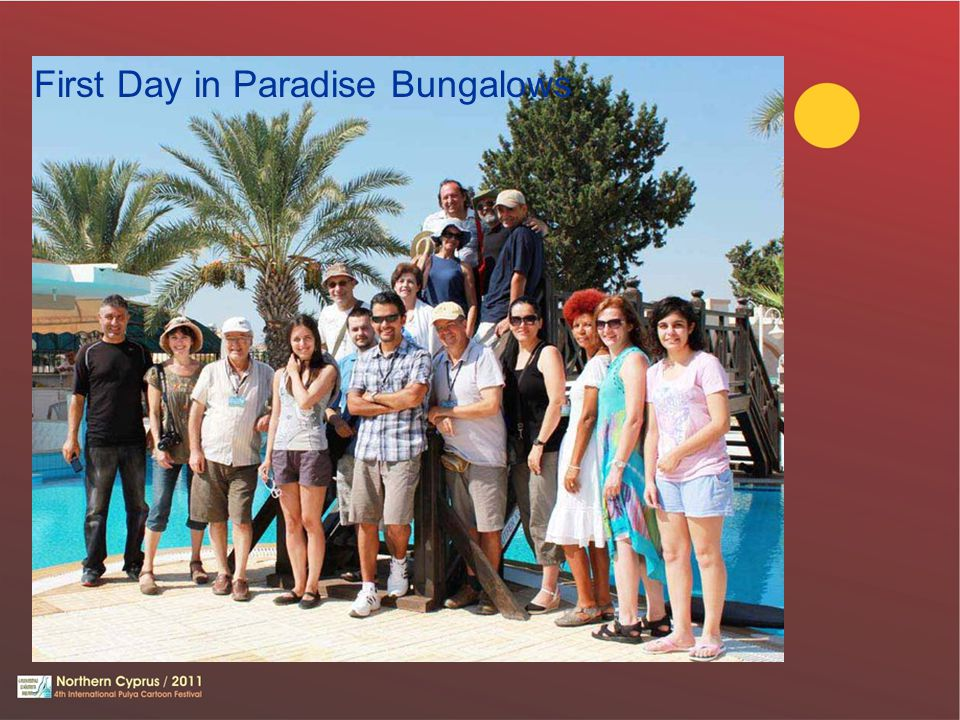 First Day in Paradise Bungalows