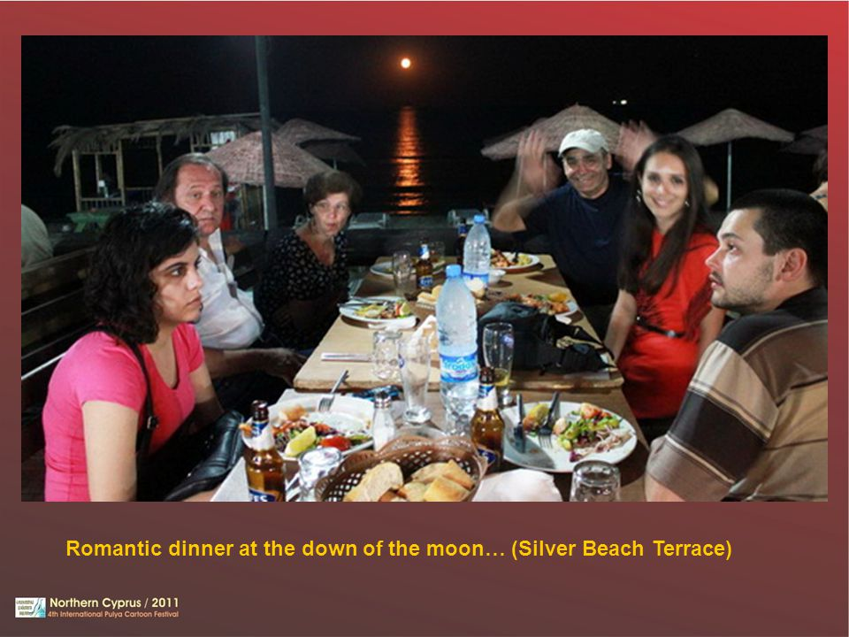 Romantic dinner at the down of the moon… (Silver Beach Terrace)