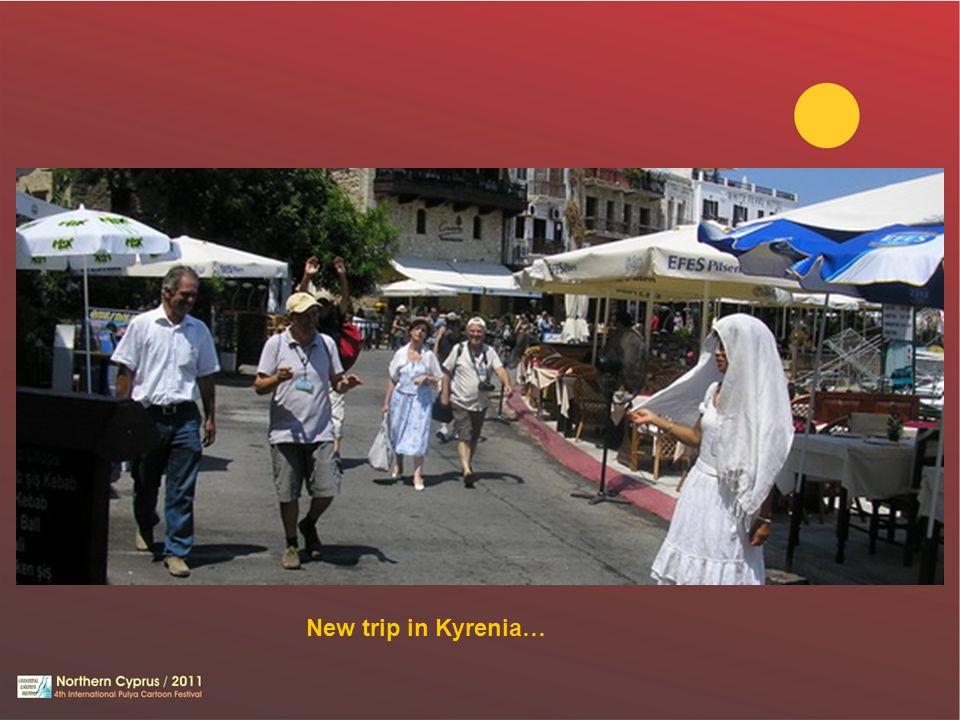 New trip in Kyrenia…