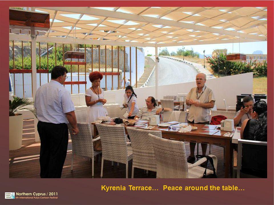 Kyrenia Terrace… Peace around the table…