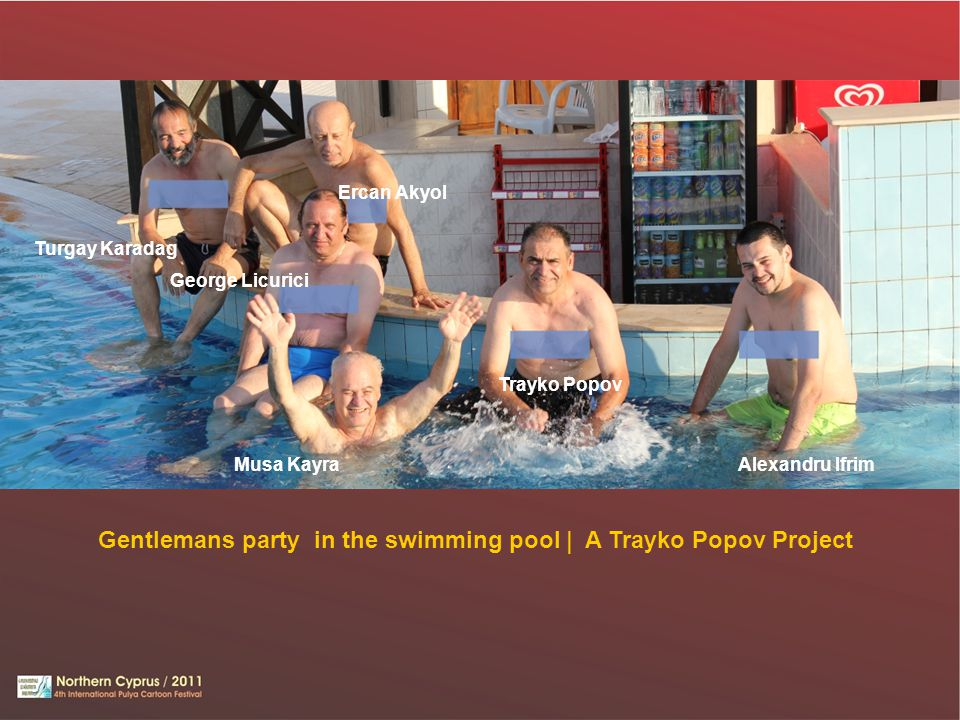 Gentlemans party in the swimming pool | A Trayko Popov Project