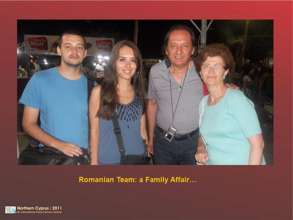 Romanian Team: a Family Affair…