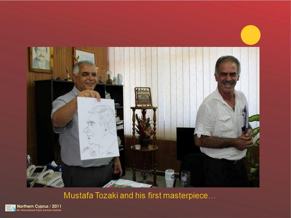 Mustafa Tozaki and his first masterpiece…