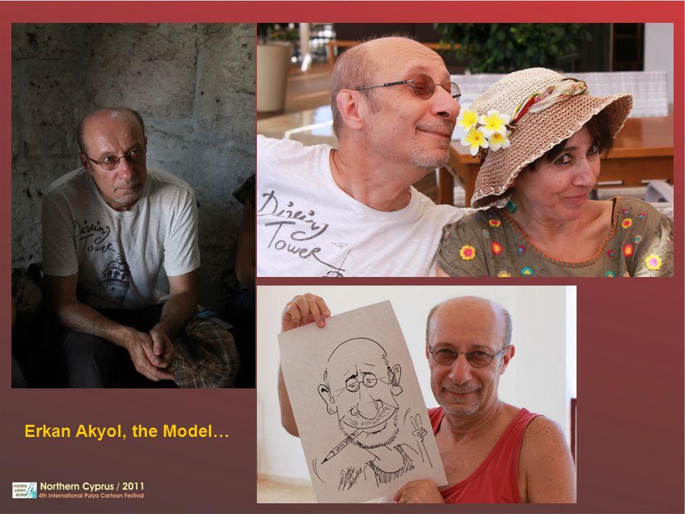 Erkan Akyol, the Model…