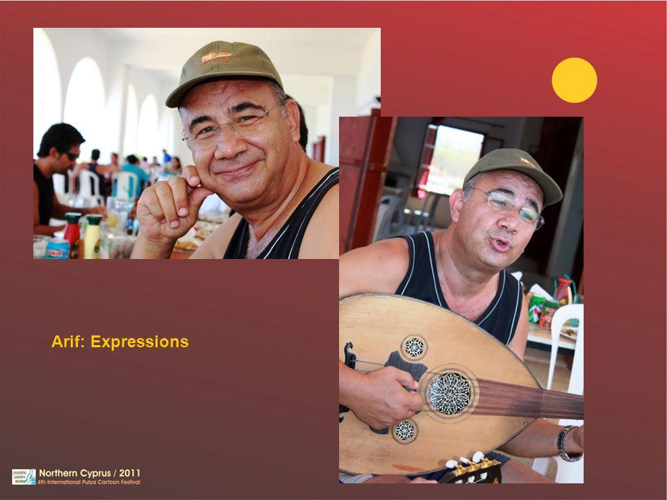 Arif: Expressions