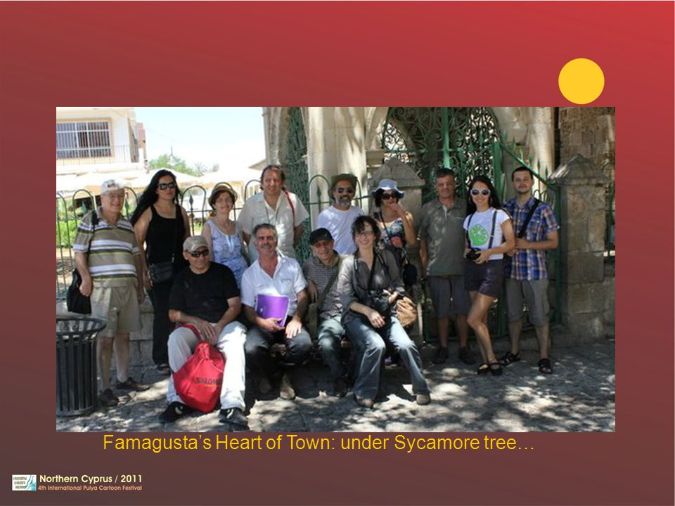 Famagusta's Heart of Town: under Sycamore tree…