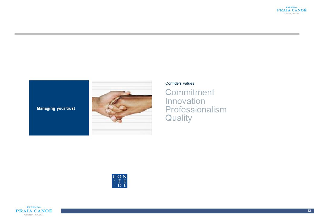 3 2 1 Commitment Innovation Professionalism Quality