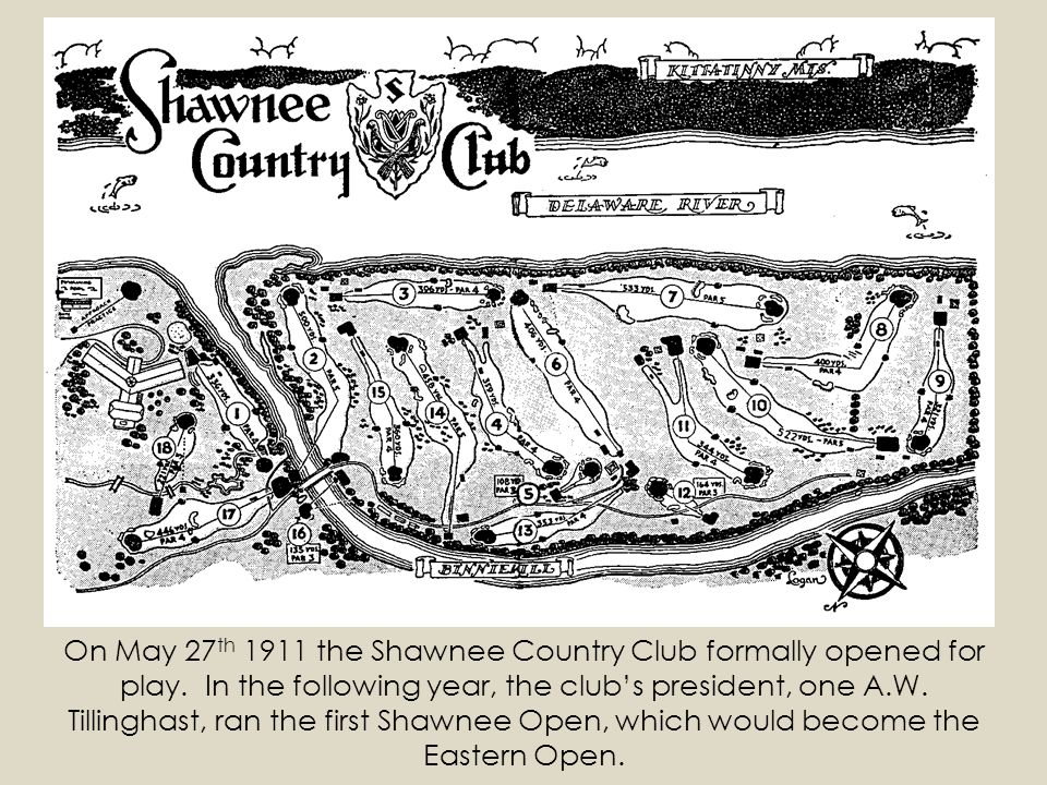 On May 27th 1911 the Shawnee Country Club formally opened for play