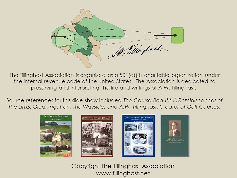 Copyright The Tillinghast Association