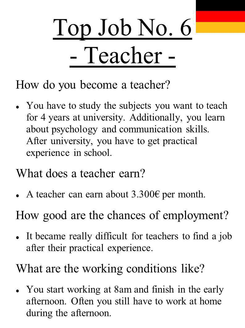 essay about how to become a good teacher