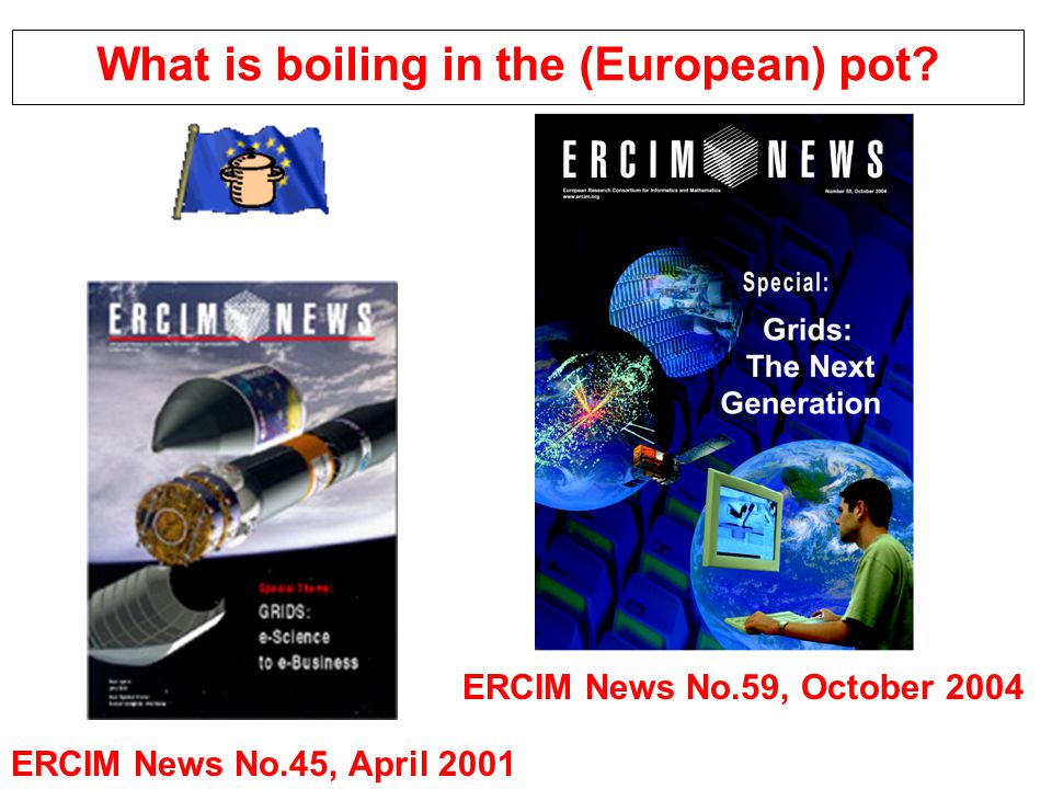 What is boiling in the (European) pot