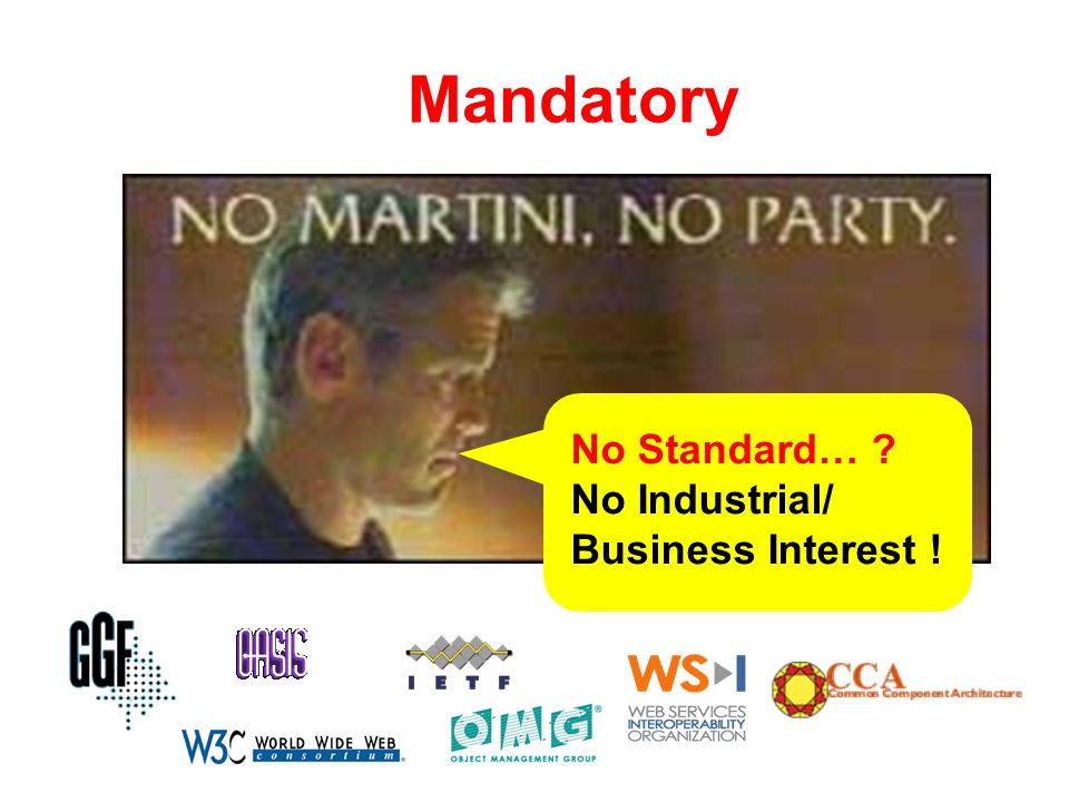 Mandatory No Standard… No Industrial/ Business Interest !
