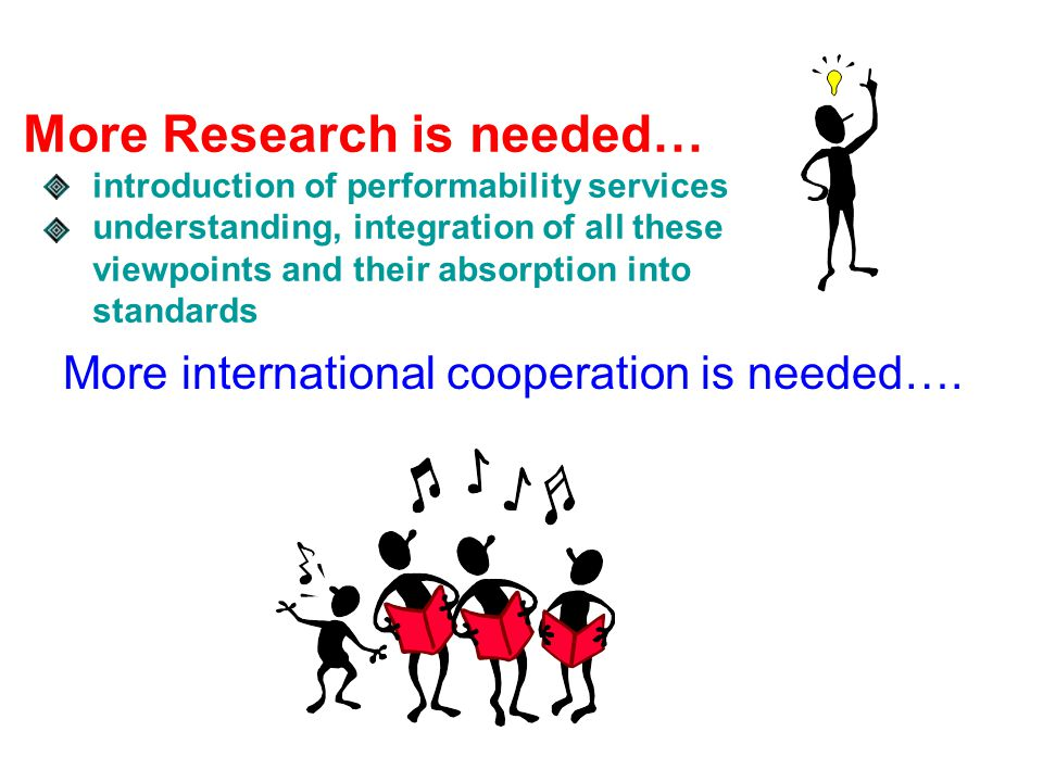 More international cooperation is needed….