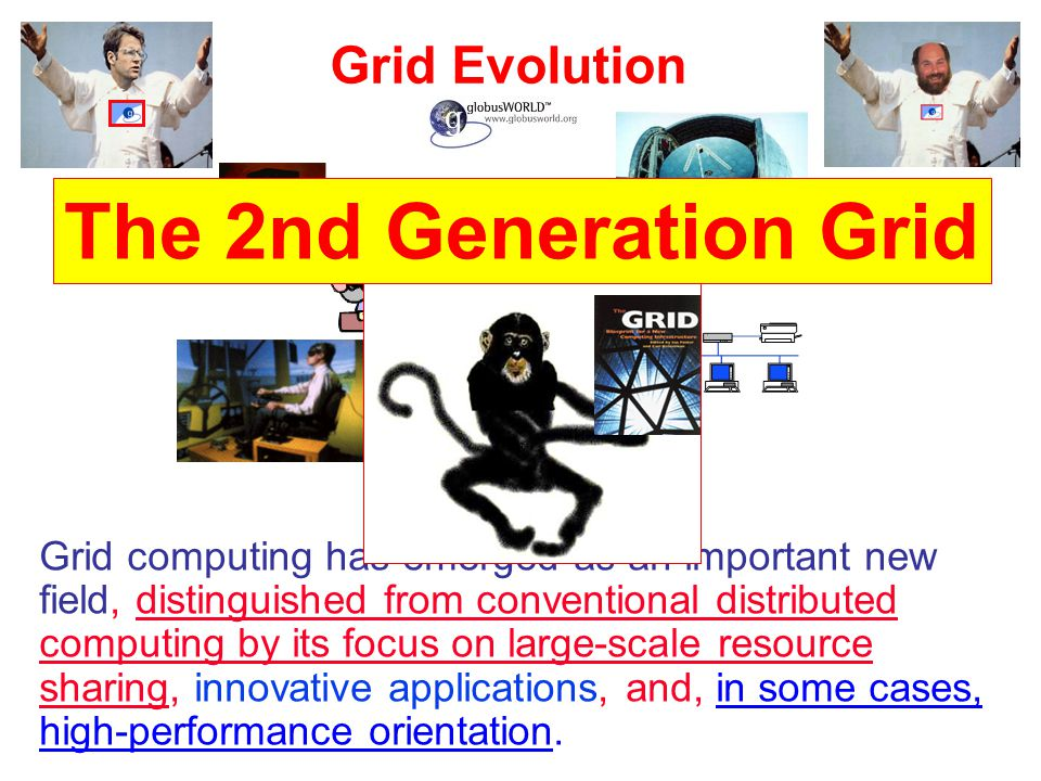 The 2nd Generation Grid Grid Evolution