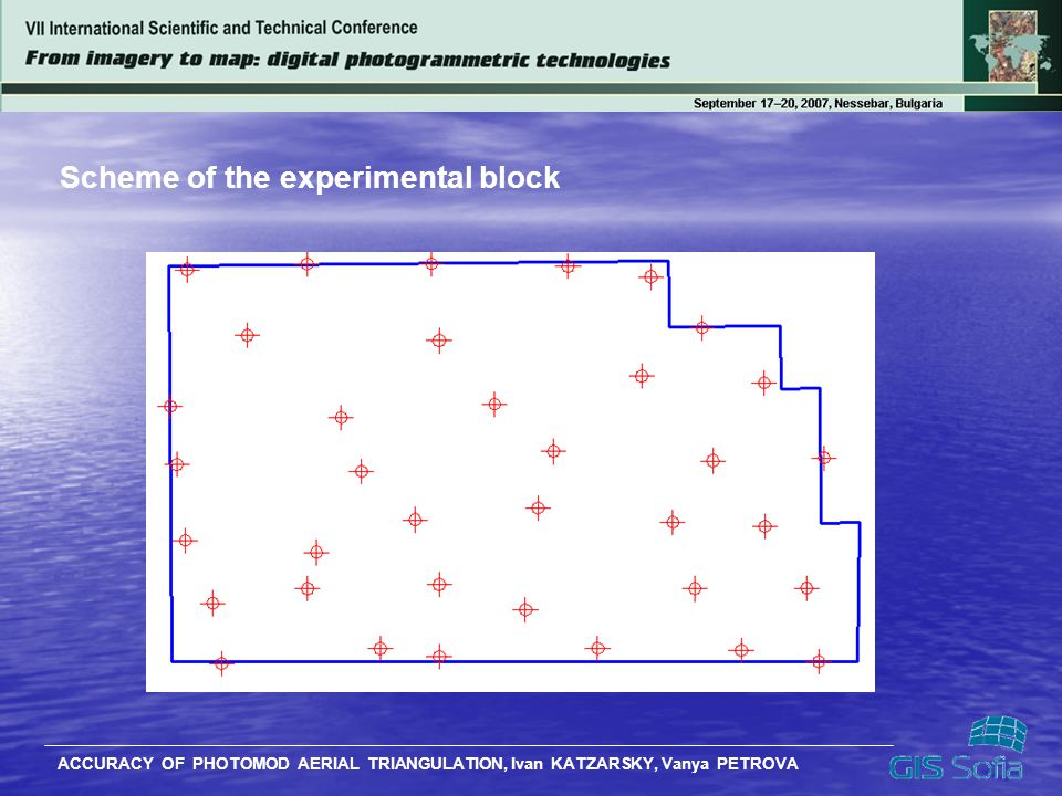 Scheme of the experimental block