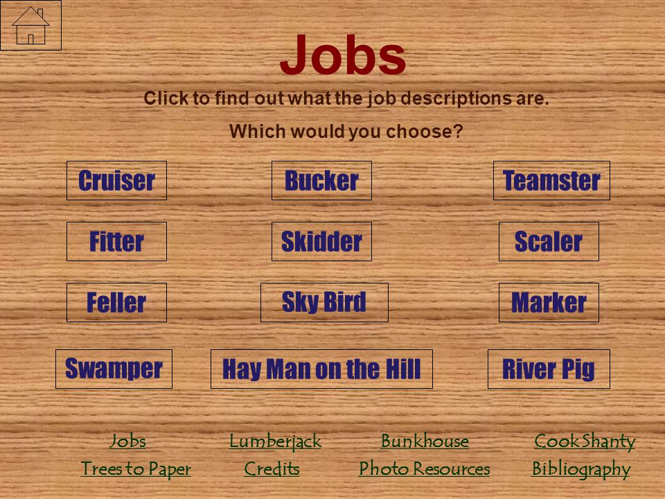 Click to find out what the job descriptions are.