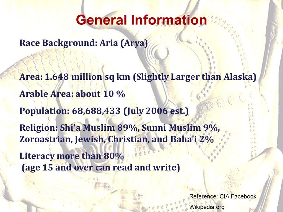 General Information Race Background: Aria (Arya)