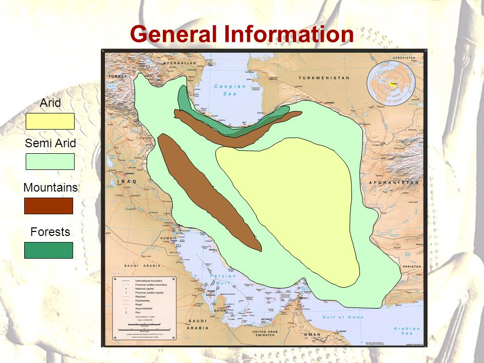 General Information Arid Semi Arid Mountains Forests
