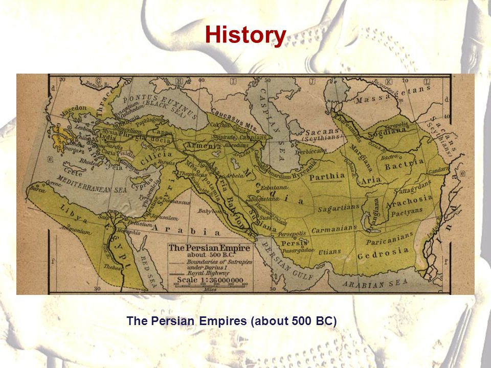 History The Persian Empires (about 500 BC)