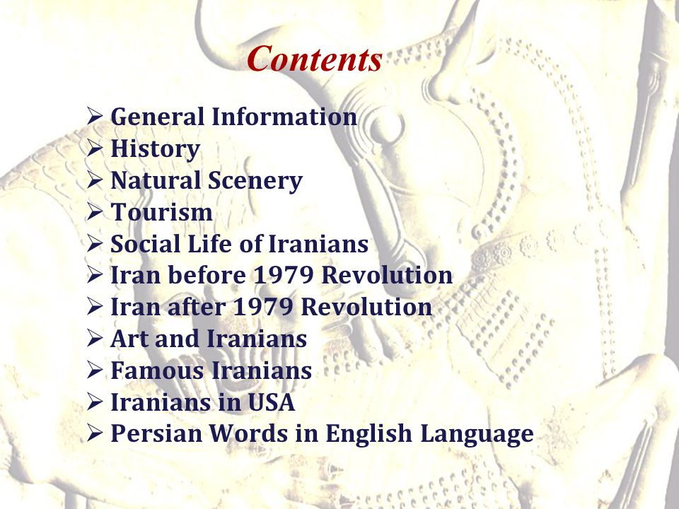 Contents General Information History Natural Scenery Tourism