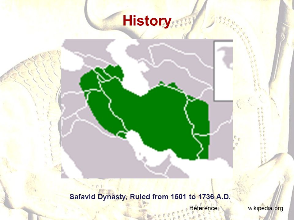 History Safavid Dynasty, Ruled from 1501 to 1736 A.D.