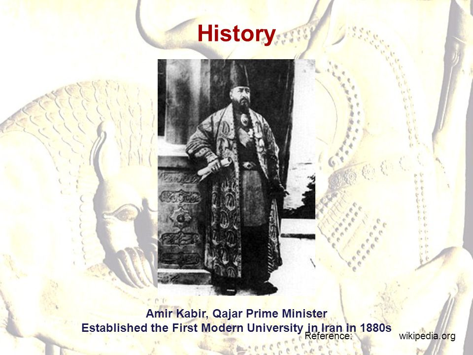 History Amir Kabir, Qajar Prime Minister