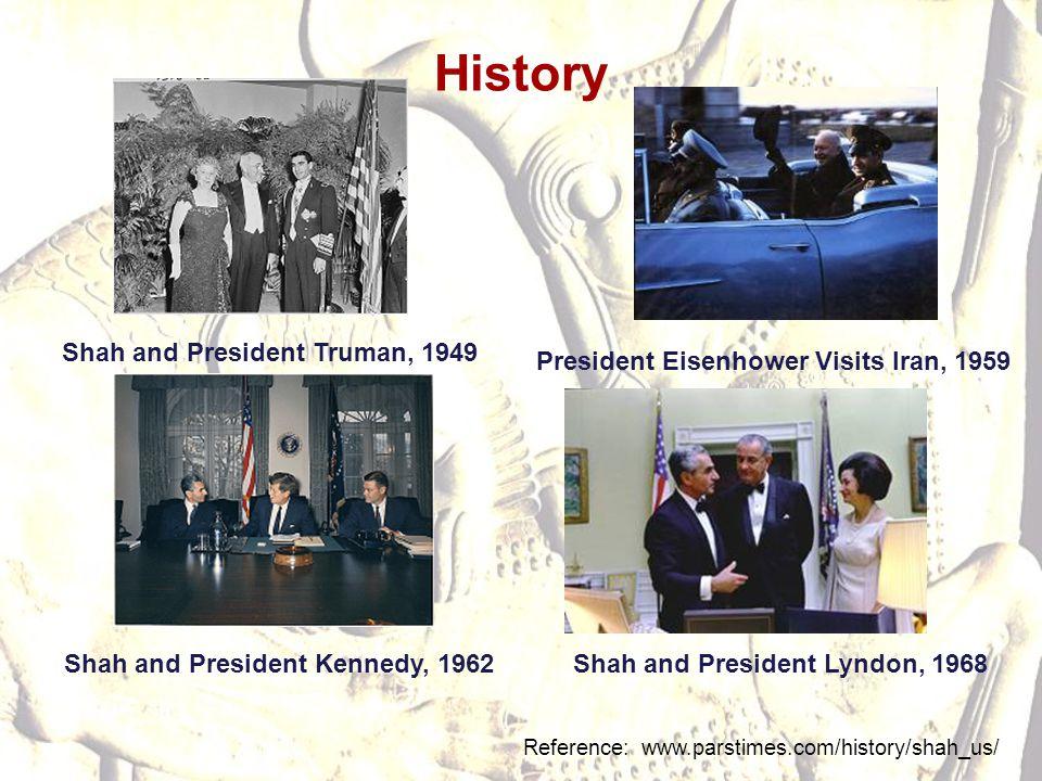 History Shah and President Truman, 1949