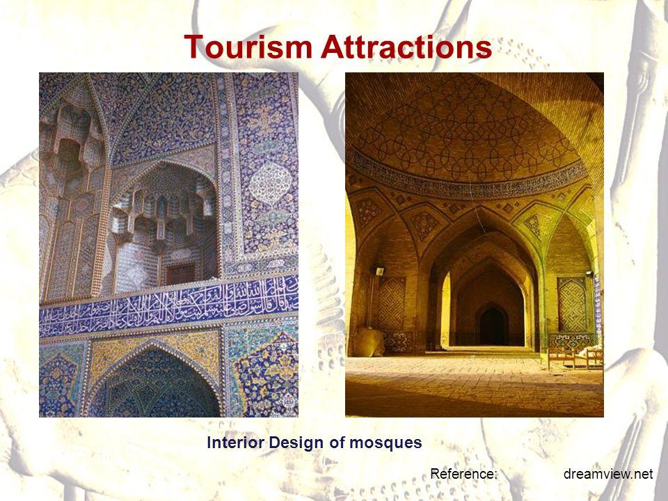 Interior Design of mosques